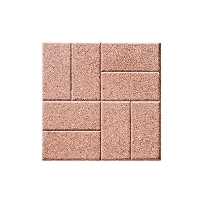 Piastrella 40 x 40 mattone martellinato rosso spessore 4 - Piastrelle da esterno 50x50 prezzi ...