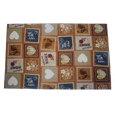 Tappetino cucina antiscivolo Liberty marrone 50 x 230 cm: prezzi e ...