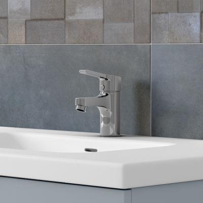 Mobile bagno Elea azzurro L 122 cm: prezzi e offerte online