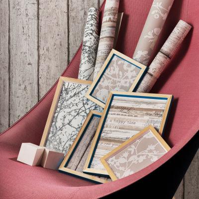 Carta da parati legno anticato beige 10 05 m prezzi e for Offerte carta da parati