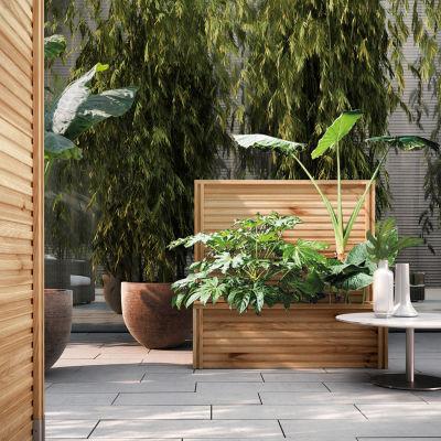 Fioriere fai da te in muratura awesome muretto in legno - Divisori giardino leroy merlin ...