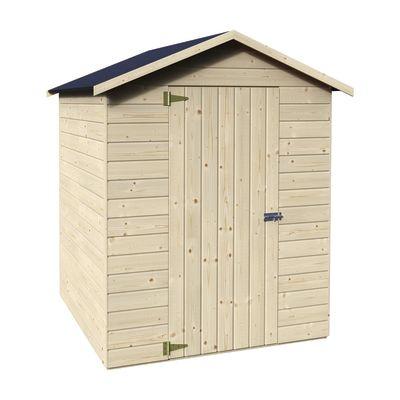 casetta in legno grezzo margherita 2,37 m², spessore 12 mm: prezzi e