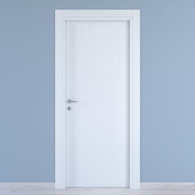 Porta da interno battente Renoir bianco venato 60 x H 210 cm ...