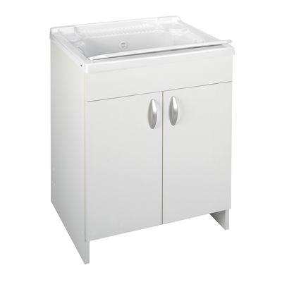 Mobile lavatoio Prix bianco L 59,2 x P 50,5 x H 84 cm: prezzi e ...