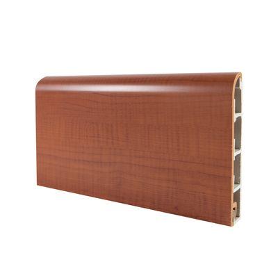 Battiscopa passacavo plus ciliegio 15 x 80 x 2000 mm for Battiscopa in legno leroy merlin