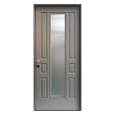 Porta blindata Look grigio L 90 x H 210 cm sx: prezzi e offerte online
