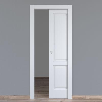 Porta da interno scorrevole Dubhe bianco 80 x H 210 cm reversibile ...