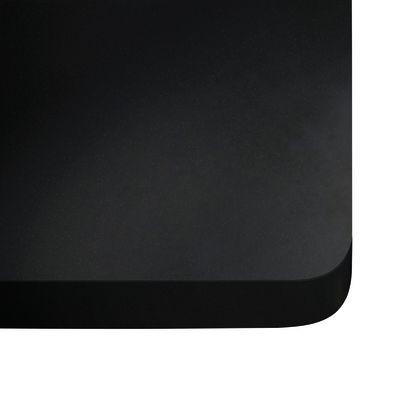 Piano cucina su misura quarzo Nero Tebas 2 cm: prezzi e offerte online