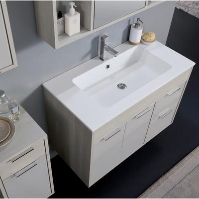bagno mobile bagno lucky larice con frontali in vetro l 90 cm 35627151_3