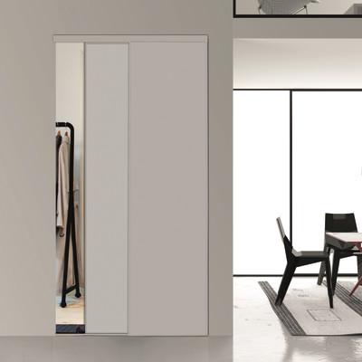 Kit 2 ante toledo laccato bianco l 120 x h 270 cm prezzi - Porte scorrevoli in vetro leroy merlin ...