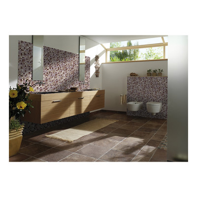 Mosaico mix gold 30 x 30 bianco viola prezzi e offerte - Tappeto viola leroy merlin ...
