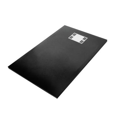 Piatto doccia slate 70 x 120 cm prezzi e offerte online for Box doccia 70 x 70 leroy merlin