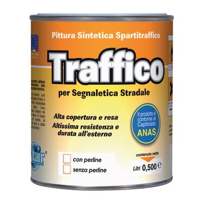 Vernice spartitraffico bianco 0 5 l prezzi e offerte online for Vernice sottosopra leroy merlin