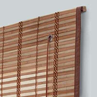 Tenda a pacchetto saigon legno naturale 150 x 250 cm for Tende da esterno leroy merlin