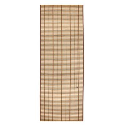 Tenda a pacchetto saigon legno naturale 150 x 250 cm for Tende a pacchetto a vetro leroy merlin