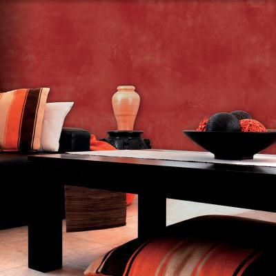 Composizione per effetto decorativo velatura ossido rosso for Vernici leroy merlin