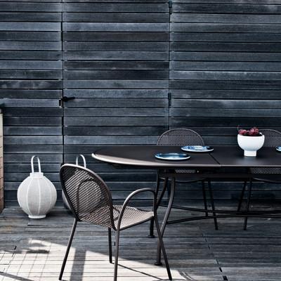 Tavolo allungabile evo grigio antracite prezzi e offerte for Tavolo da terrazzo allungabile
