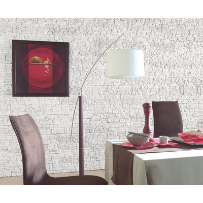 Rivestimento decorativo chamonix bianco bianco prezzi e for Pannelli 3d leroy merlin