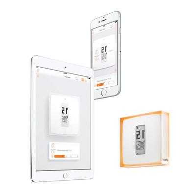 Termostato wi fi wireless netatmo ink010 prezzi e - Toner leroy merlin ...