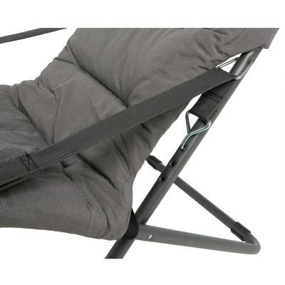 Sdraio comfort soft antracite prezzi e offerte online for Leroy merlin sdraio