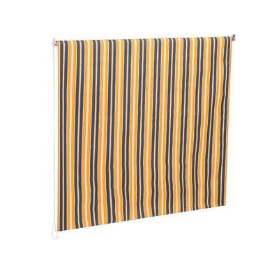Tenda da sole a caduta con rullo marrone e beige l 150 cm for Tende beige e marrone