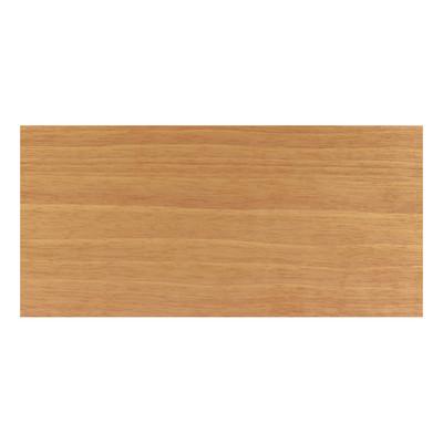 Piattina legno verniciato noce tanganika 5 x 40 x 2400 mm for Paraspigoli leroy merlin