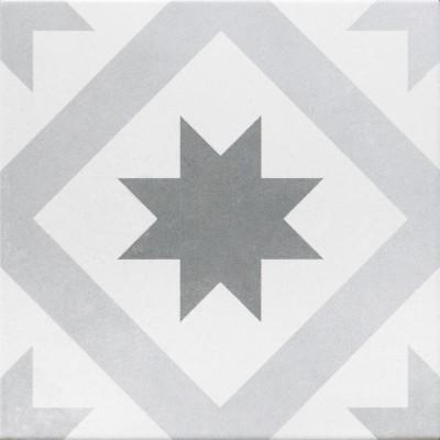 Piastrella gatsby 20 x 20 mix grigio bianco prezzi e - La piastrella 97 ...