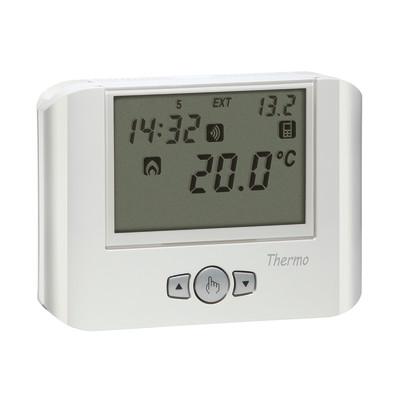 Termostato gsm vemer thermo gsm bianco prezzi e offerte for Termostato bticino thermo p
