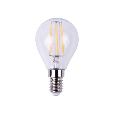 lampadina led lexman filamento e14 40w sfera luce calda