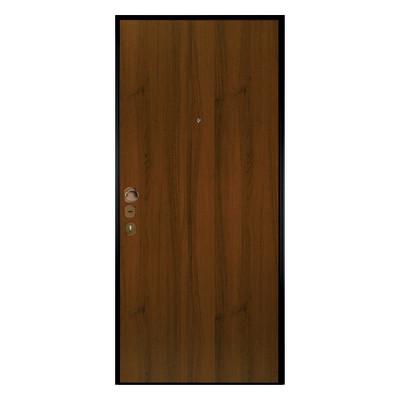 Porta blindata double key noce l 80 x h 200 cm dx prezzi e offerte online - Porte blindate prezzi leroy merlin ...
