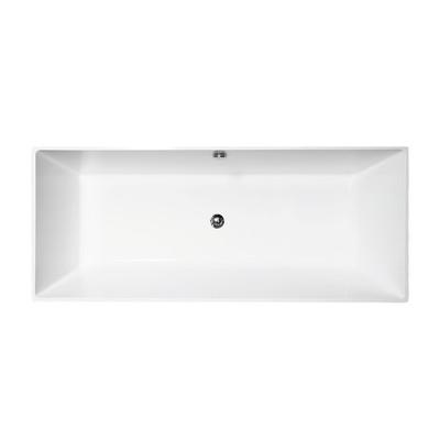 Vasca centro stanza carmel 160 x 65 cm prezzi e offerte for Parete vasca pieghevole leroy merlin