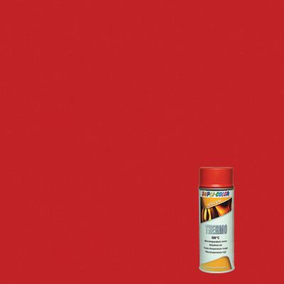 Smalto spray thermo alte temperature rosso opaco 400 ml for Vernici leroy merlin