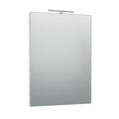 Specchio con faretto modern 60 x 80 cm prezzi e offerte for Scarpiera specchio leroy merlin