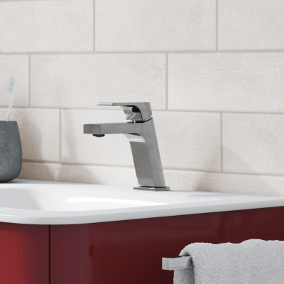 Mobile bagno liverpool rosso l 140 cm prezzi e offerte online - Offerte mobile bagno ...