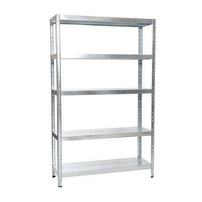 Scaffale metallo maciste 100 100 x 40 x 200 cm prezzi e for Ikea scaffali in metallo