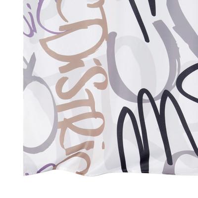 Tenda graffiti bianco 140 x 280 cm prezzi e offerte online - Graffiti leroy merlin behang ...