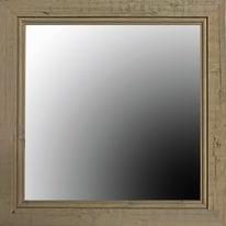 specchio da parete quadrato Coral noce 47 x 47 cm