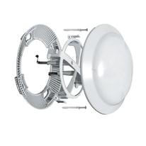 Riduttore acustico per fori di ventilazione con molle Ø 230 mm