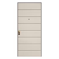 Porta blindata White avorio L 90 x H 210 cm sx