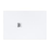 Piatto doccia resina Logic 100 x 80 cm bianco