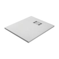 Piatto doccia resina Slate 80 x 100 cm bianco