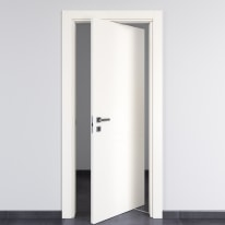 Porta da interno rototraslante Rail bianco 80 x H 210 cm dx