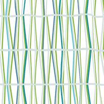 Tenda doccia Bambu' verde L 180 x H 200 cm