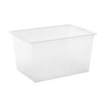 Scatola C-Box XL L 55 x P 38,5 x H 30,5 cm trasparente