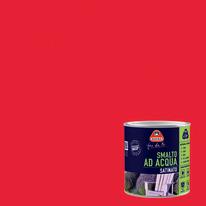 Smalto Boero all'acqua rosso ciliegia satinato 0.5 L