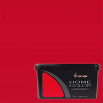 Idropittura lavabile Home Color scarlet 2,5 L Max Meyer