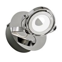 Faretto singolo Inspire Xena cromo LED integrato