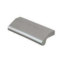 Maniglia per mobili argento satinato interasse 32 mm