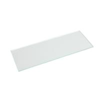 Mensola Spaceo trasparente L 90 x P 15, sp 0,5 cm