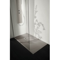 Piatto doccia resina Liso 140 x 80 cm cemento